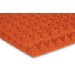 Auralex Acoustics - 2PYR22BUR_HP - Auralex 24x24x2 Inch Studiofoam-22 Pyramids (Burgundy) 12pk