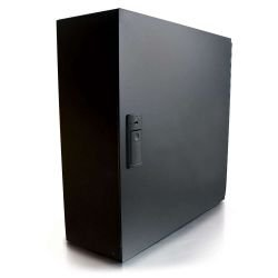 C2G (Cables To Go) - 39108 - C2G Q-Series 12-Panel Wallmount Box - Black