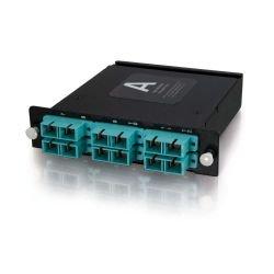 C2G (Cables To Go) - 39134 - C2G Quiktron Q-Series 12-Strand MTP/MPO-SC LOMM 50/125 Module - 12 x MTP - 12 Port(s) - 12 x RJ-11 - 12 x MT Port(s)