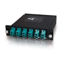 C2G (Cables To Go) - 39135 - C2G Quiktron Q-Series 12-Strand MTP/MPO-LC LOMM 50/125 Module - 12 x LC, 1 x MTP - 13 Port(s) - 13 x RJ-11 - 12 x - 1 x MT Port(s)