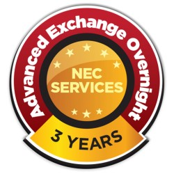 NEC - ADVEX-MN-3YR-18 - Nec Extwarr, Monitors Less Than 60 Inch 3yr Advanced Exchange With Overnight Fr
