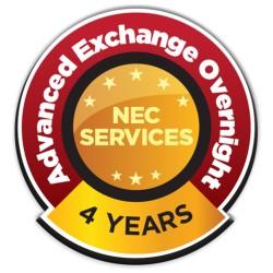 NEC - ADVEX-MN-4YR-1 - Nec Extwarr, Monitors Less Than 60 Inch 4yr Advanced Exchange With Overnight Fr