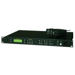 Telex / RTS - BTR-800 C3 - UHF 2-Channel Wireless Full Duplex Base Station (Freq: C3, Headset jack: A4M)