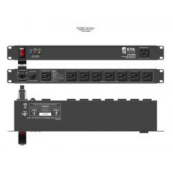 Atlas Sound - ETA-PD8A - 9 Outlet / 15A Rackmount Power Distribution