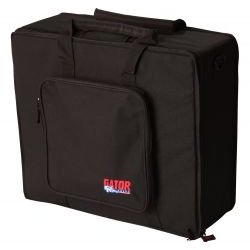 Gator Cases - G-MIX-L 1822 - Gator Cases G-MIX-L 1822 Carrying Case for Audio Mixer - Black - Nylon, EPS Foam, Tricot Interior - Handle, Shoulder Strap - 24.5 Height x 20.5 Width x 8 Depth