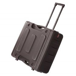 Gator Cases - G-PROR-8U-19 - Pro-Series Molded Mil-Grade PE Rack Case (8RU, 19 Deep) w/ Handle & Wheels