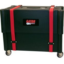 Gator Cases - G-212-ROTO - Molded Mil-Grade PE Case & Stand w/ Wheels for 2X12 Combo Amps
