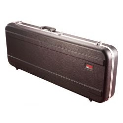 Gator Cases - GCBASS - Gator Cases GCBASS Carrying Case for Guitar - ABS Plastic, Plush Interior, EPS Foam Interior - Handle - 16 Height x 49.5 Width x 5.8 Depth