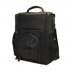 Gator Cases - G-CLUB CDMX-12 - Gator Cases G-CLUB CDMX-12 Carrying Case for Audio Mixer, Optical Drive - Black - Handle, Shoulder Strap - 14 Height x 21 Width x 7 Depth