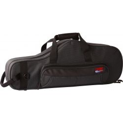 Gator Cases - GL-ALTOSAX-MPC - Lightweight Alto Sax Case with storage for mouthpiece and other accessories