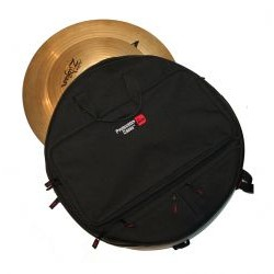Gator Cases - GP-CYMBAK-22 - Heavy Duty padded back pack to hold up to six 22 inch cymbals w/ pocket for stick bag