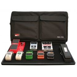Gator Cases - GPT-PRO-PWR - Gator Cases Pedal Board with Carry Bag and Power Supply; Pro Size (GPT-PRO-PWR)