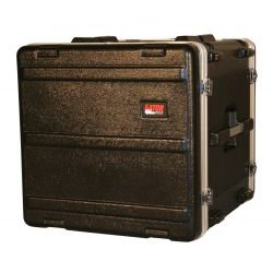 Gator Cases - GR-10L - Molded PE Rack Case (10RU, 19 Deep) Locking