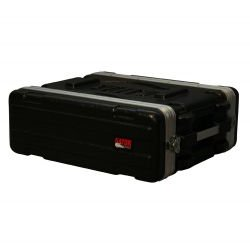 Gator Cases - GR-3S - Molded PE Rack Case Shallow (3RU, 14.25 Deep)