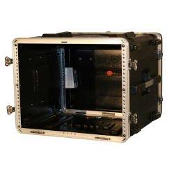 Gator Cases - GR-8L - Molded PE Rack Case (8RU, 19 Deep) Locking