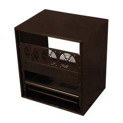 Gator Cases - GR-STUDIO-8U - Studio Rack Cabinet (8RU, 15.5 Deep)