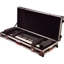 Gator Cases - G-TOUR 76V2 - ATA Wood Flight Case for 76 Note Keyboards