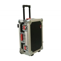 Gator Cases - G-TOURCARRYONPL - ATA Wood Flight Case w/ Wheels, Removable Tray for Laptop, Convoluted Foam Lid