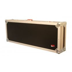 Gator Cases - G-TOUR ELEC - Gator Cases G-TOUR ELEC Carrying Case for Guitar - Black - Plywood, Polyvinyl Chloride (PVC), Plush Interior - Handle - 15.5 Height x 42.4 Width x 7.4 Depth