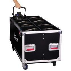Gator Cases - G-TOURPAR64-LED-8 - 12mm Tour Style case for 8 LED PAR 64 Light Fixtures