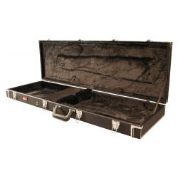 Gator Cases - GW-BASS - Deluxe Wood Case for Bass Guitars