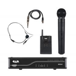 CAD Audio - GXLUHBL - CAD Audio GXLUHBL Wireless Microphone System - 20 Hz to 20 kHz Frequency Response - 400 ft Operating Range