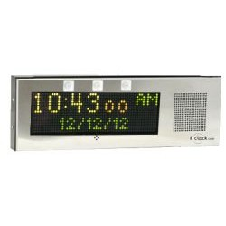 Advanced Network Devices - IPCSL-RWB - IP Clock with Flashers (Large)