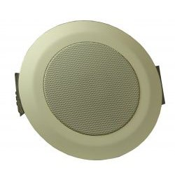 Advanced Network Devices - IPSCM-RM - IP Ceiling Speaker Pair Audio Only (Round, 10-5/8)