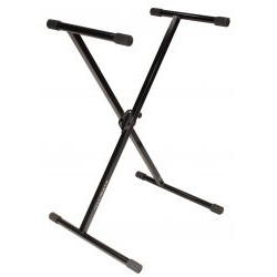 Ultimate Support Systems - 13231 - Ultimate Support Systems IQ Series IQ-1000 X-Style Keyboard Stand with Memory Lock - Black