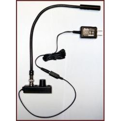 Littlite - L-1/12 - Low Intensity 12 Detachable BNC Gooseneck Lampset (U.S. Power Supply)