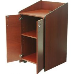 AVFI - LE3050 CHL - Mobile Flat Top Lectern (Cherry Hill Plank)