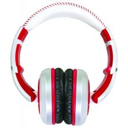 CAD Audio - MH510W - Closed-back Studio Headphones (White / Red)