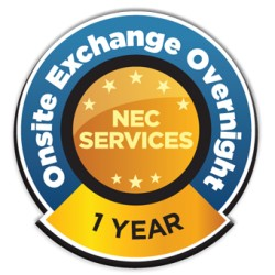 NEC - ONSITEON-42 - NEC Service+ Overnight Service - Service - 1 Business Day - On-site - Maintenance - Physical Service