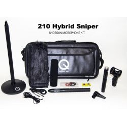 Que Audio - Q210HS-KIT - Que 210 Hybrid Sniper Microphone Kit
