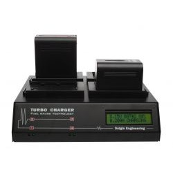 Jvc - Tc400jvc650tdm - Quad Charger W/charge-discharge-charge