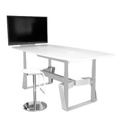 AVFI - TLF4X8 CWT - Quad Lift Collaboration/VC Table (Crystal White)
