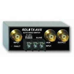 Radio Design Labs (RDL) - TX-AVX - RDL TX-AVX Video Switch - 2 x 1
