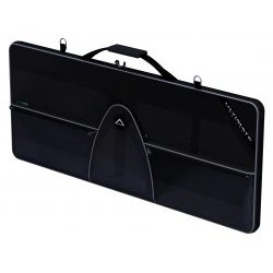 Ultimate Support Systems - USGR-76 - Ultimate Support Systems GreenRoom 76 Key Musical Keyboard Bag - Poly - Black