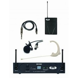 CAD Audio - WX1610G - CAD Audio StageSelect WX1610 - 542 MHz to 564 MHz Operating Frequency - 40 Hz to 15 kHz Frequency Response