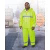Dunlop Protective - 72160LG00 - Dunlop Protective Footwear Large Hi-Viz Yellow Visitex II .35 mm Nylon, Polyester And PVC Hood, ( Each )