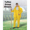Dunlop Protective - 78050SM00 - Dunlop Protective Footwear Small Yellow Tuftex .3 mm Nylon And PVC Coveralls, ( Each )