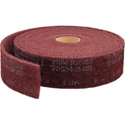 3M - 61500189594 - 3M Scotch-Brite CF-RL Non-Woven Aluminum Oxide Sanding Roll - Very Fine Grade - 12 in Width x 30 ft Length - 00284