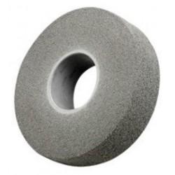 3M - 61500126893 - 3M 14 X 2 X 8 Fine Grade Silicon Carbide Scotch-Brite EXL Gray Non-Woven Deburring Convolute Wheel, ( Each )