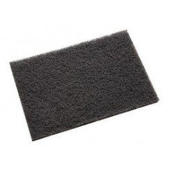 3M - 61500295664 - 3M 6 X 9 Medium Grade Silicon Carbide Scotch-Brite 7446B Gray Non-Woven Hand Pad, ( Case )