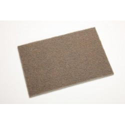 3M - 61500301017-BX - 3M 6 X 9 Coarse Aluminum Oxide Scotch-Brite Brown Heavy Duty Hand Pad, ( Box of 20 )