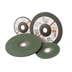 3M - 60440126039-EA - 3M 4 1/2 X 1/8 X 7/8 Green Corps 60 Grit Ceramic Type 27 Grinding Wheel, ( Each )