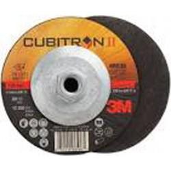 3M - 60440240939-BX - 3M 9 X 1/8 X 5/8 - 11 Zirconia II 36 Grit Ceramic Type 27 Depressed Center Cut Off Wheel, ( Box of 10 )