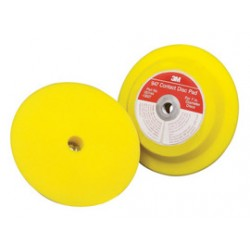 3M - 60980009801 - 3M 7 X 1 947 Yellow Medium Density Pad Holder (For Use With 7 Hook And Loop Discs), ( Each )