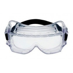 3M - 70071542560-EA - 3M Centurion Impact Goggles With Clear Frame And Clear Anti-Fog Lens, ( Each )