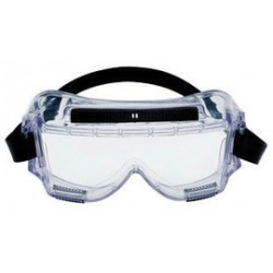 3M - 70071542586-CA - 3M Centurion Splash Goggles With Clear Frame And Clear Anti-Fog Lens, ( Case of 10 )